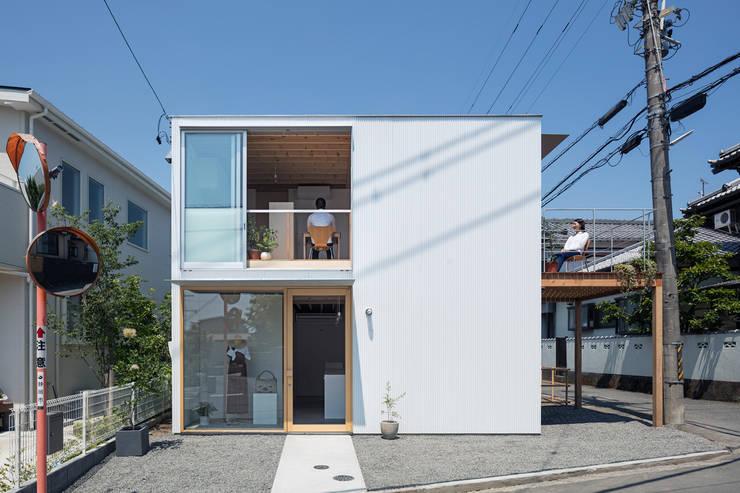 Casas de madera de estilo  por すずき