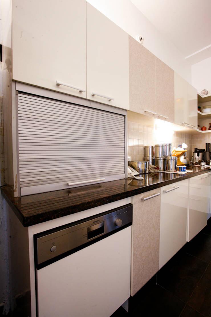 1st Floor Kitchen:  Kitchen units by The Workroom