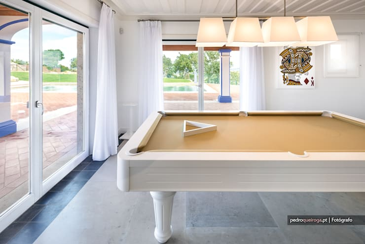 Salas de estilo  por Pedro Queiroga | Fotógrafo