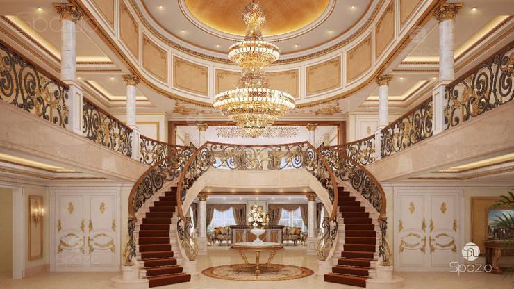 :  الممر والمدخل تنفيذ Spazio Interior Decoration LLC