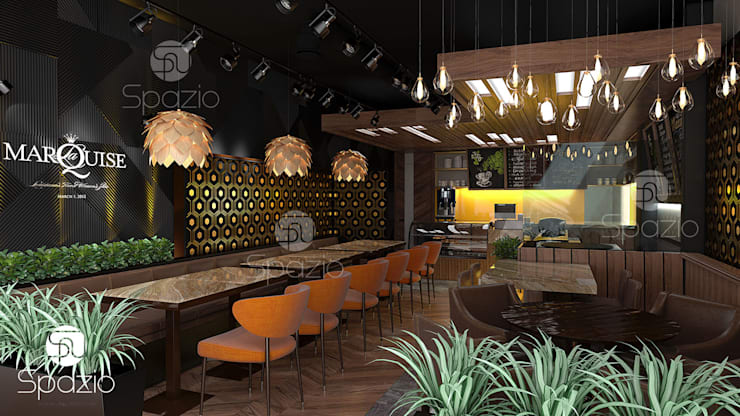 Bars & clubs by Spazio Interior Decoration LLC