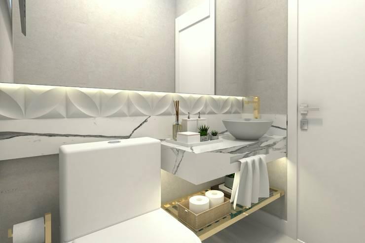 حمام تنفيذ Letícia Saldanha Arquitetura