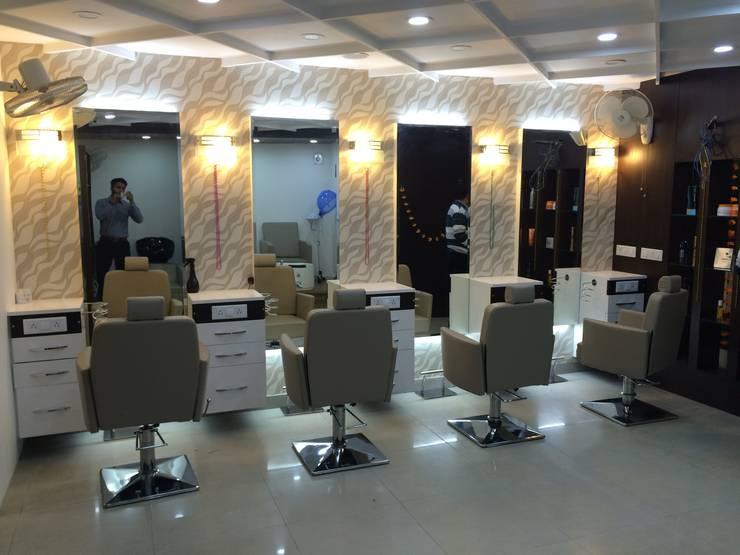 salon : modern  by Square Designs,Modern