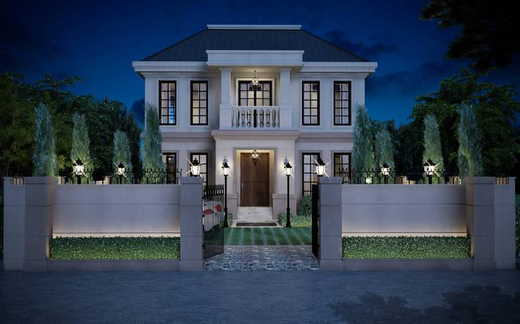 บ้านพระราม 9 (ออกแบบภายนอกและภายใน):  ตกแต่งภายใน by I2D Studio