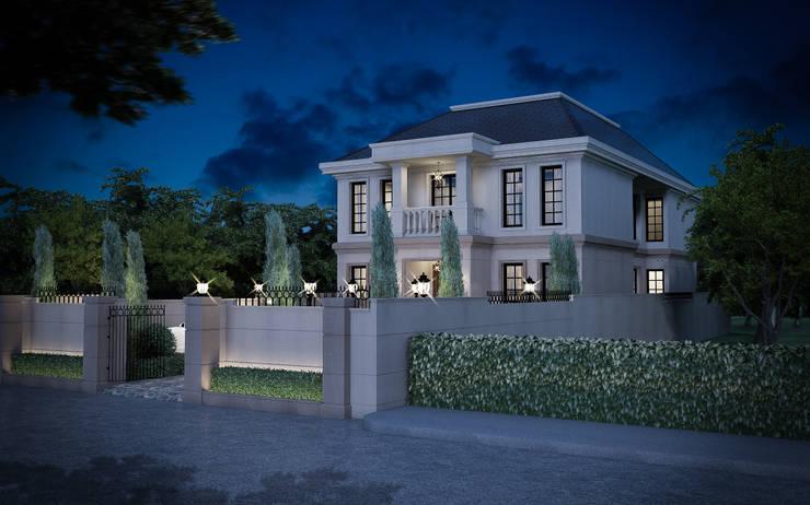 งานออกแบบบ้านพักอาศัย พระราม9 (ออกแบบภายนอกและภายใน):  ตกแต่งภายใน by I2D Studio