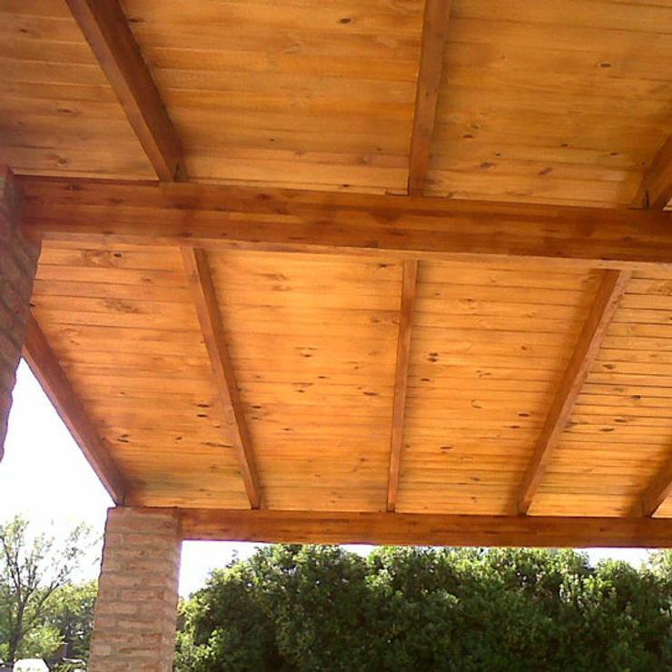 VIVIENDA ROLDAN 5: Galerías de estilo  por ECOS DE SOL (Ingeniería y Construcción),Colonial