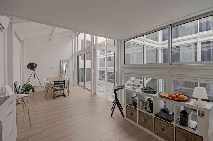 ห้องครัว by Brengues Le Pavec architectes