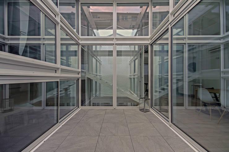 RUX: Jardin de style  par Brengues Le Pavec architectes