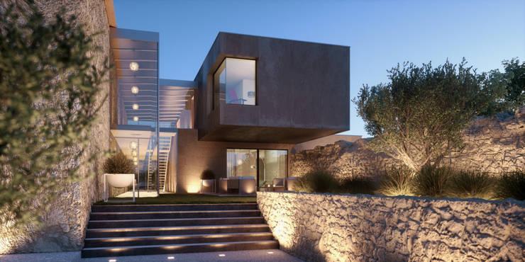BYL: Maisons de style  par Brengues Le Pavec architectes
