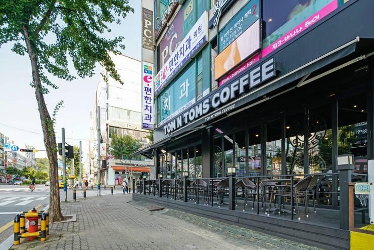 안산 탐앤탐스: 그리다집의  바 & 카페,