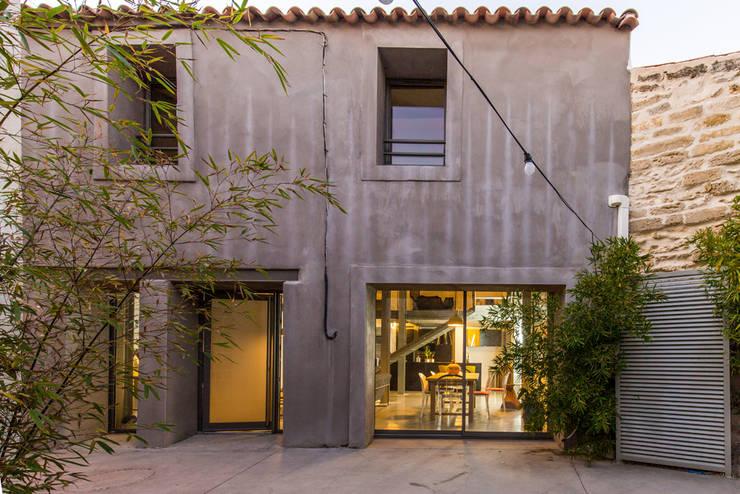 HRT: Maisons de style  par Brengues Le Pavec architectes