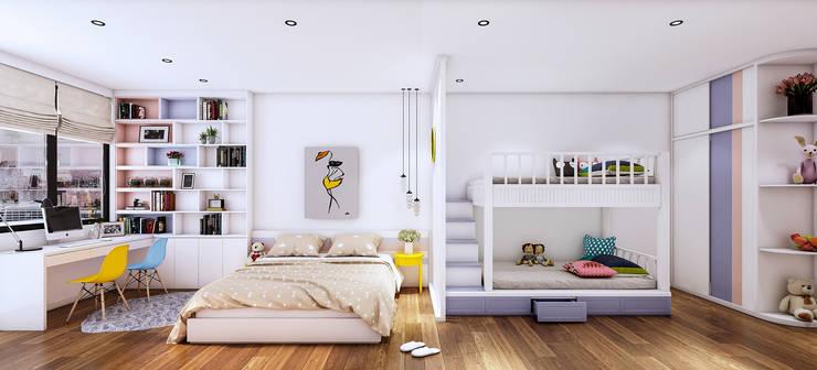 Thiết kế nội thất nhà 7 tầng – Anh Dũng:   by  NỘI THẤT - 86STUDIO