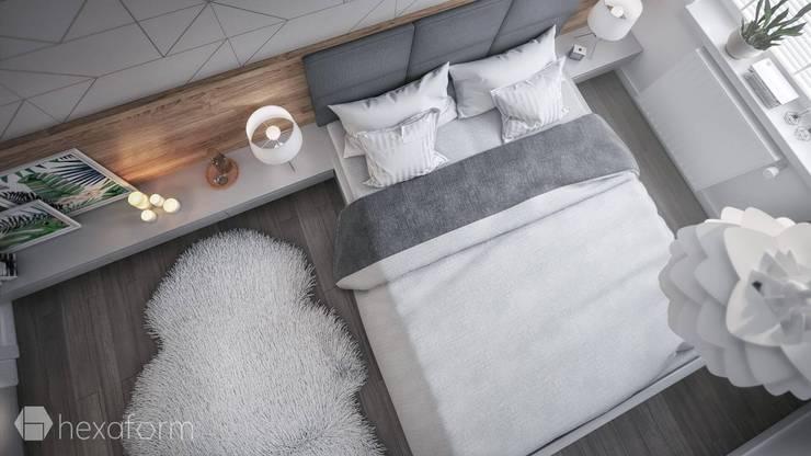 غرفة نوم تنفيذ hexaform