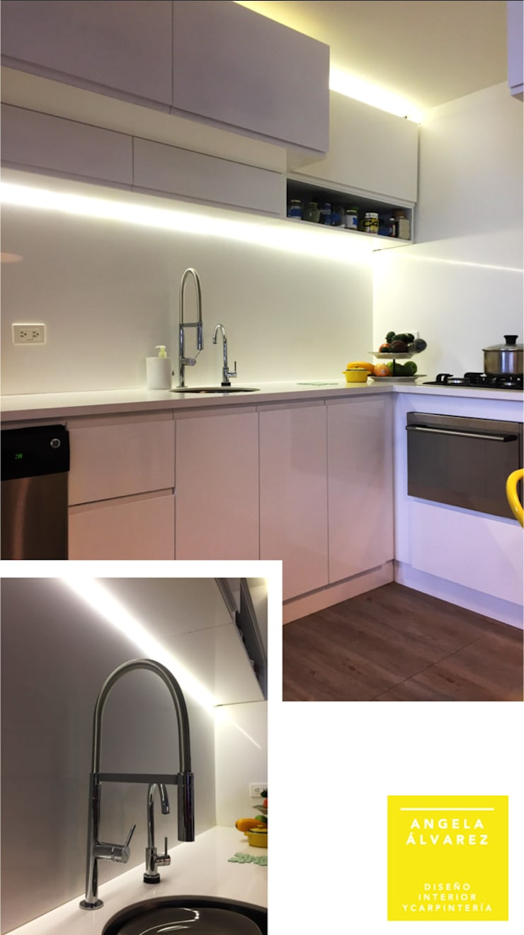 Cocina: Cocinas integrales de estilo  por D Interior