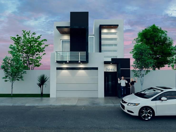 render: Casas de estilo  por ORO ARQUITECTURA