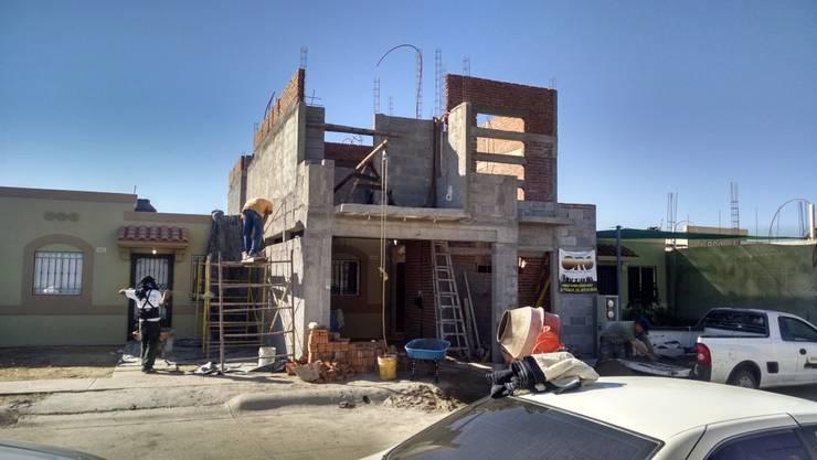 proceso: Casas de estilo minimalista por ORO ARQUITECTURA