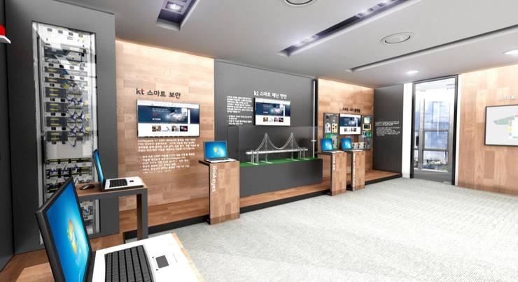 사무실 인테리어 A: 아임커뮤니케이션즈의  사무실