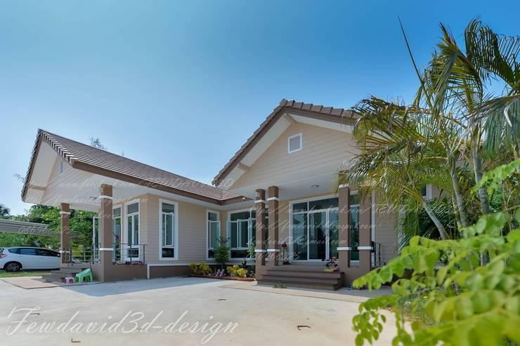 บ้านพักอาศัยชั้นเดียว อ.ขามสะแกแสง จ.นครราชสีมา:   by fewdavid3d-design