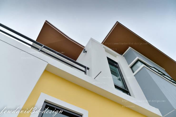บ้านพักอาศัย2ชั้น อ.เมืองพิษณุโลก จ.พิษณุโลก/คุณชัยวัฒน์ พวงทอง:   by fewdavid3d-design