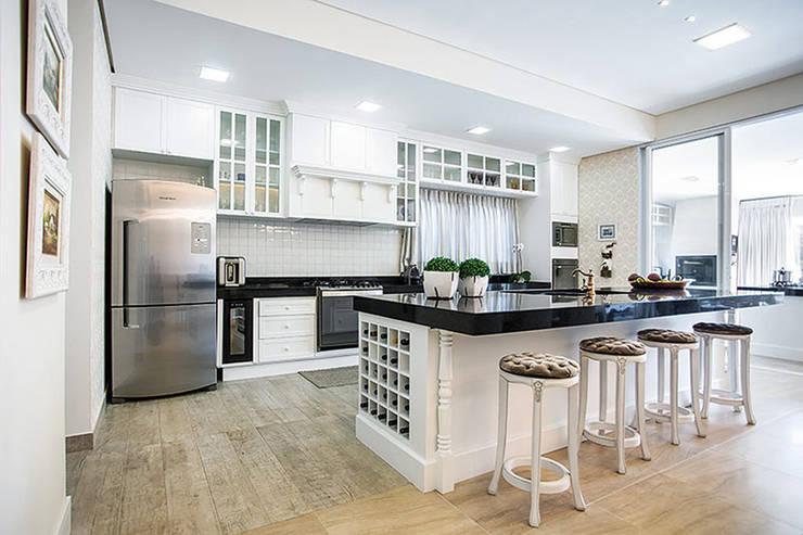 Armarios de cocinas de estilo  por Wanderson Alves - Arquiteto
