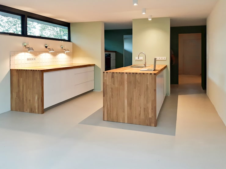 detail keuken:  Keukenblokken door studioquint