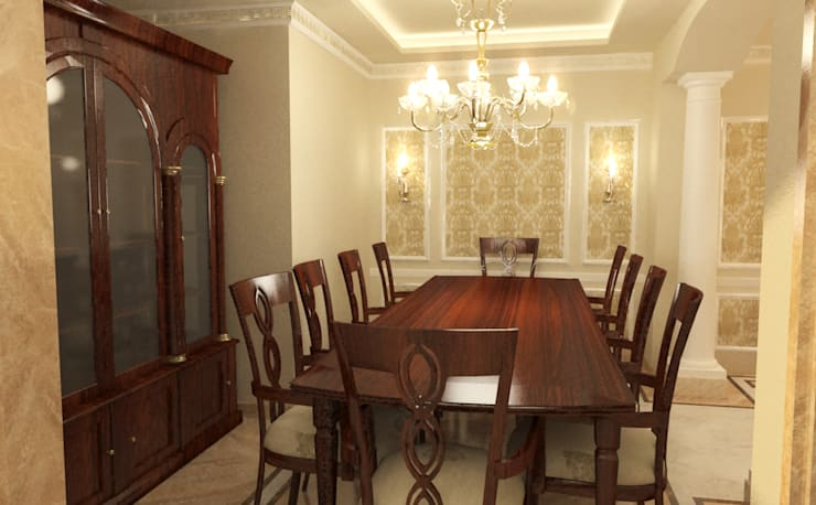 Dining room by Quattro designs ,