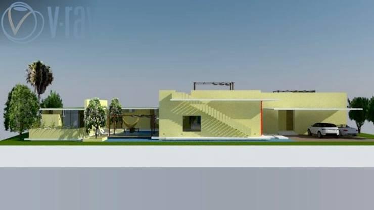 Casa Barranquilla: Casas de estilo  por Heritage Design Group