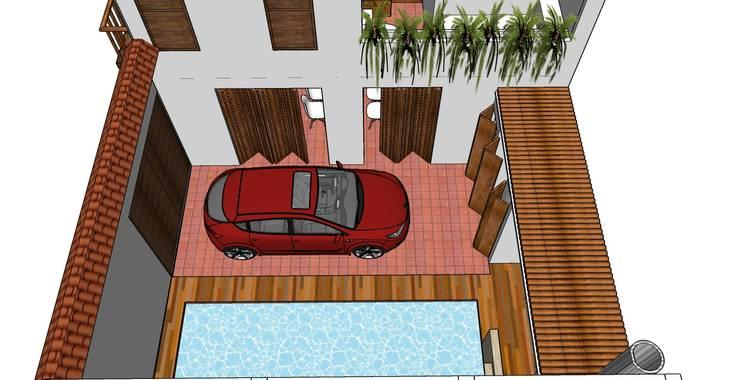 Casa Barichara: Casas de estilo  por Heritage Design Group,