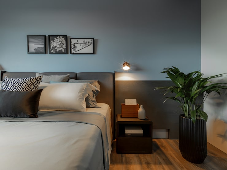 主臥:  臥室 by 存果空間設計有限公司