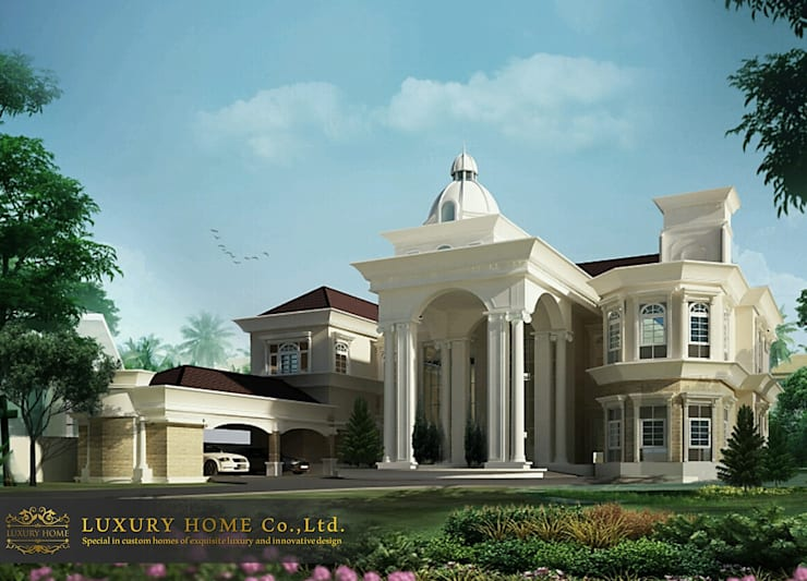 NEO-CLASSIC 2-STOREY HOMES:  บ้านเดี่ยว by HOME