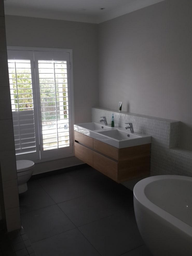 Toilet Bathroom Renovation And Plumbing Claremont:   by CPT Painters / Painting Contractors in Cape Town