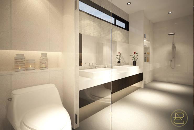 Sun House:  Kamar Mandi by Arci Design Studio