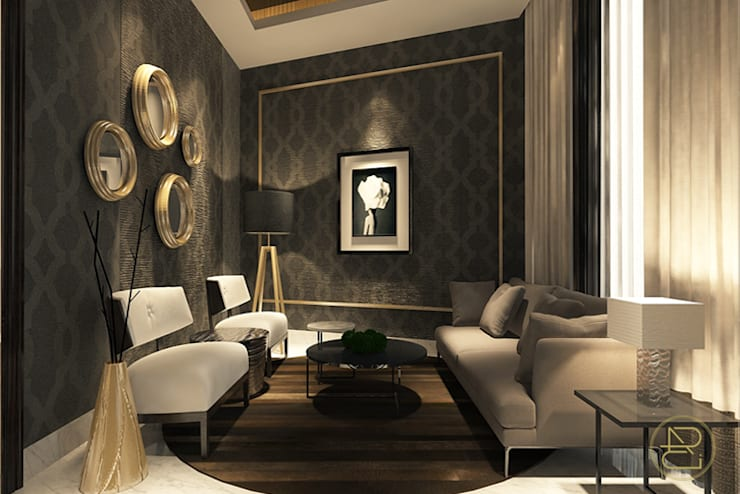BGV House:  Ruang Keluarga by Arci Design Studio