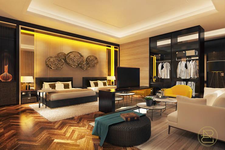 BGV House:  Kamar Tidur by Arci Design Studio