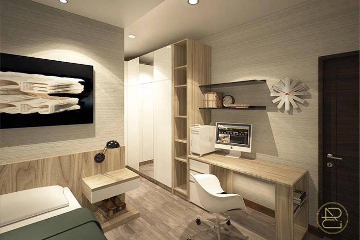 SL House:  Kamar Tidur by Arci Design Studio