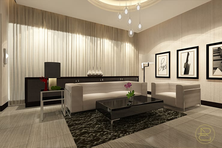 Teratai House:  Ruang Keluarga by Arci Design Studio