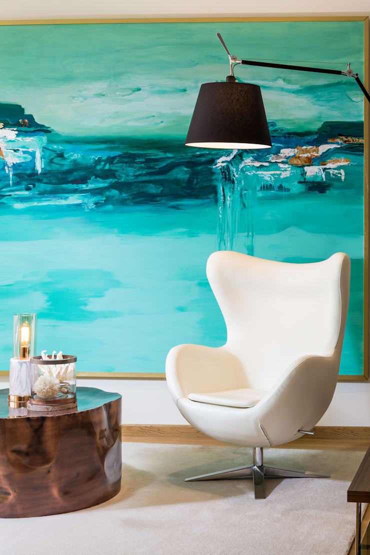 modern Living room by Glim - Design de Interiores