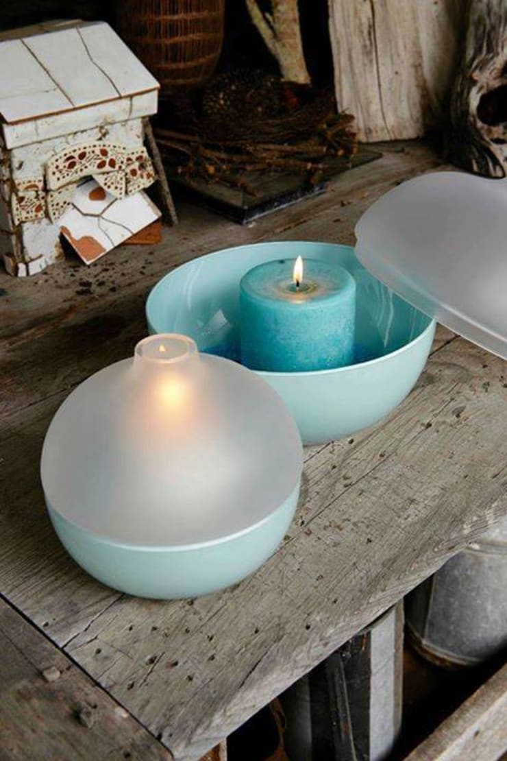 Candle Decor: modern  by Spacio Collections,Modern Ceramic