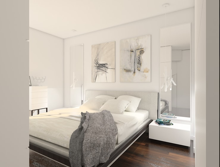 Bedroom by deco chata