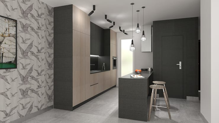 Modern kitchen by deco chata Modern