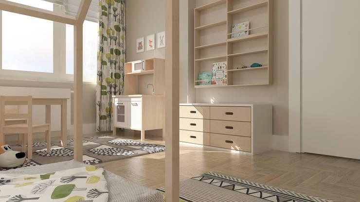 Modern nursery/kids room by deco chata Modern