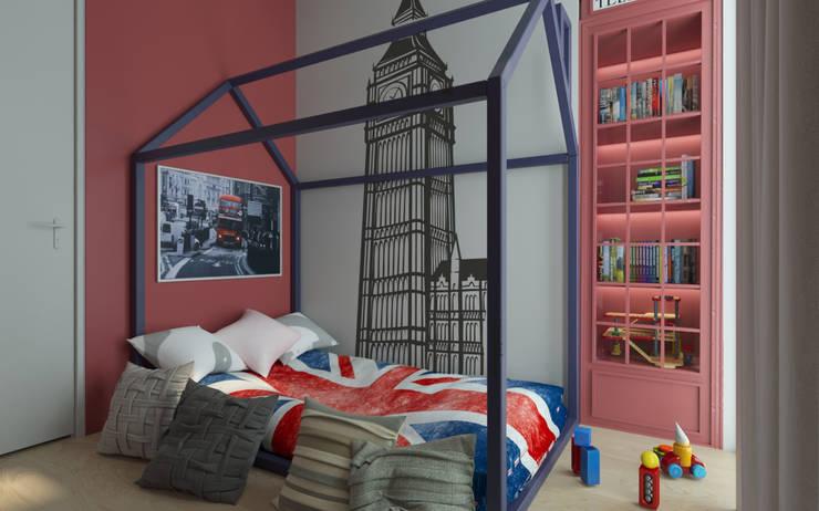 kid's bedroom:   by Rendrahandy