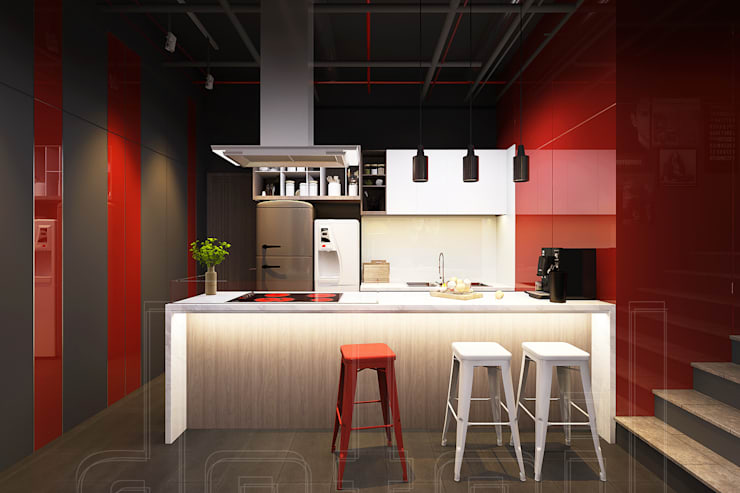 VĂN PHÒNG RED RUBY:   by Công ty TNHH Xây Dựng Và Thương Mại Detail