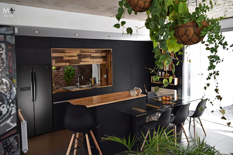 Dining room by estudio  M