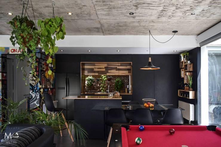 LOFT VF: Livings de estilo moderno por estudio  M