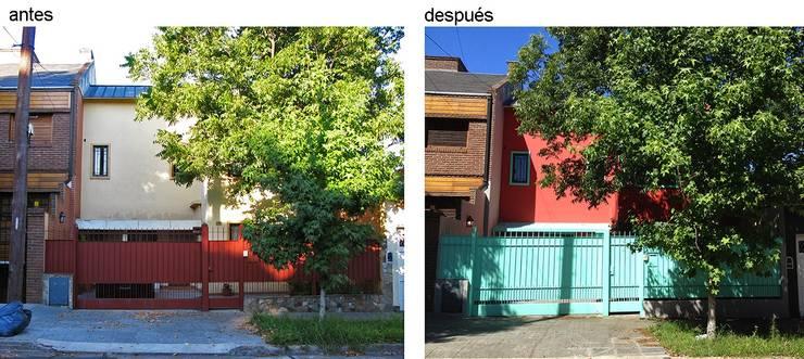 Casa Rosetti | Remodelación : Casas unifamiliares de estilo  por Paula Mariasch - Juana Grichener - Iris Grosserohde Arquitectura