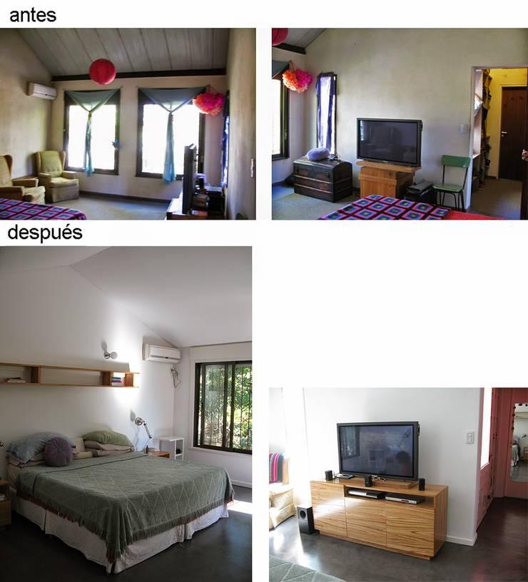 Casa Rosetti | Remodelación : Livings de estilo  por Paula Mariasch - Juana Grichener - Iris Grosserohde Arquitectura