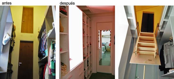 Casa Rosetti | Remodelación : Dormitorios de estilo  por Paula Mariasch - Juana Grichener - Iris Grosserohde Arquitectura