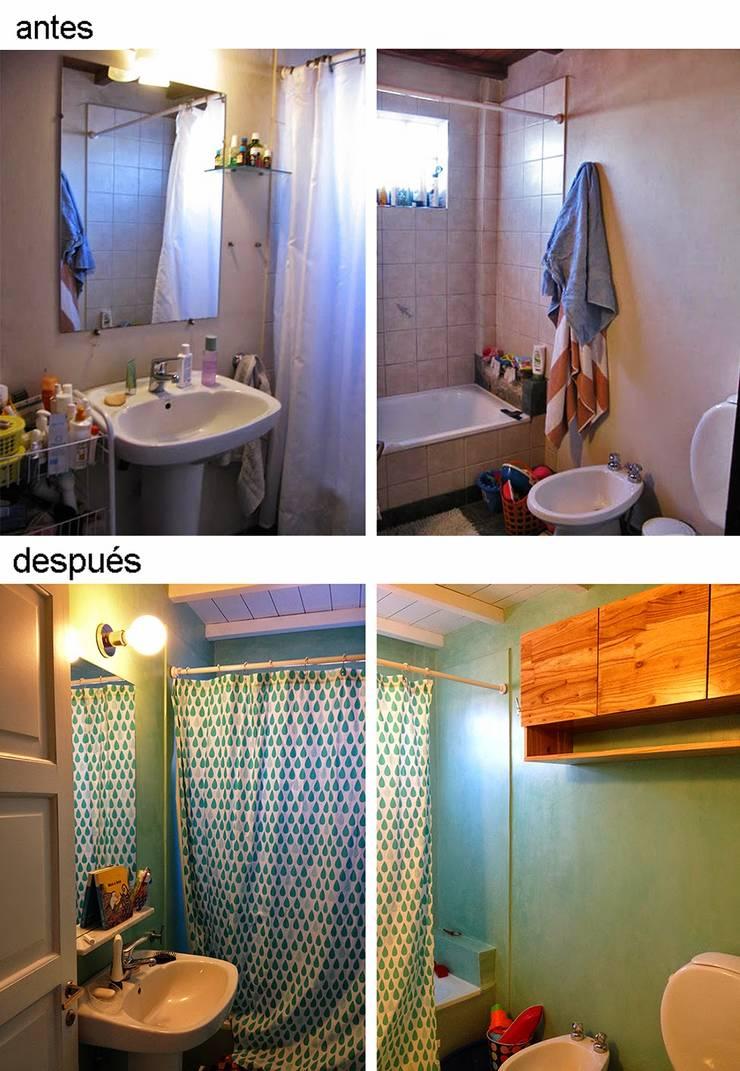 Casa Rosetti | Remodelación : Baños de estilo  por Paula Mariasch - Juana Grichener - Iris Grosserohde Arquitectura