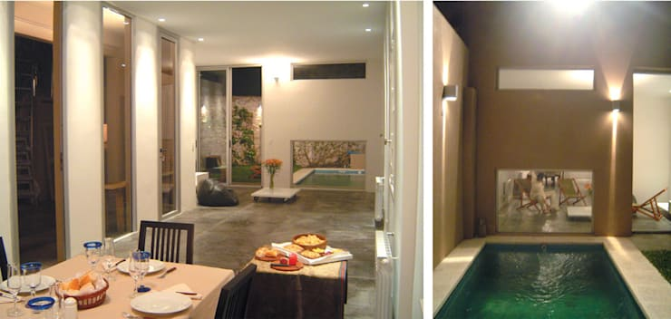 Casa en la vía: Livings de estilo  por Paula Mariasch - Juana Grichener - Iris Grosserohde Arquitectura,